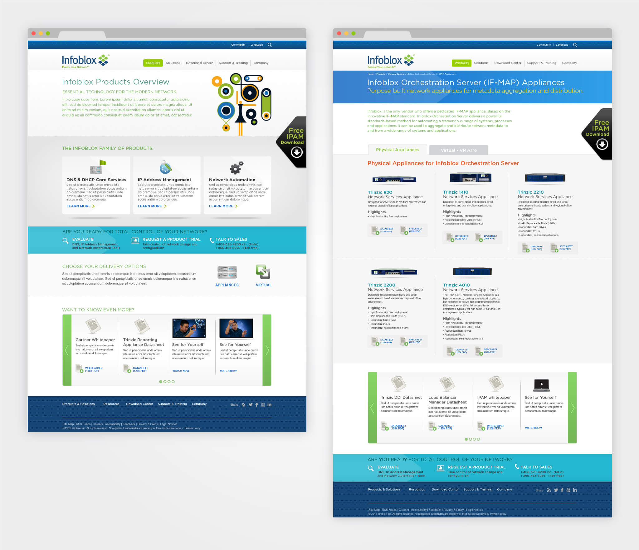 Infoblox Website » designed by 405 GROUP